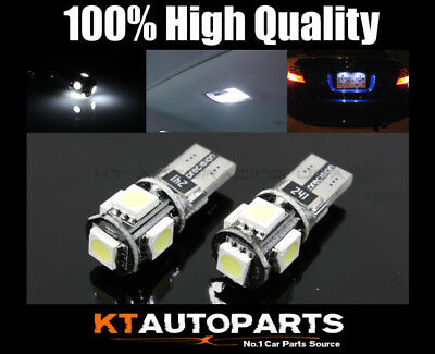 2X 194/168/t10/159 6000K White High Power Smd Dome Led Light Map Door Lamps Bulb