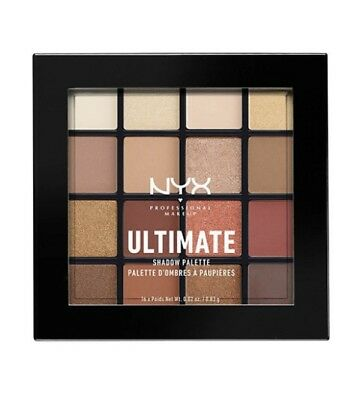 "NYX ULTIMATE SHADOW PALETTE - WARM NEUTRALS (USP03) ""US Seller"" + FREE SHIPPING"