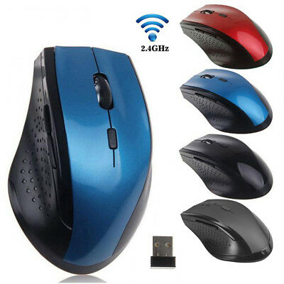 2.4GHz Wireless Gaming Mouse Portable USB Optical Mice For PC Laptop Computer