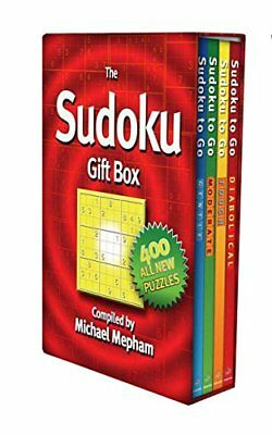 The Sudoku Gift Box by Mepham, Michael Book The Cheap Fast Free Post