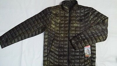 New The North Face Men's Thermoball Full Zip Quilted Jacket Size Medium