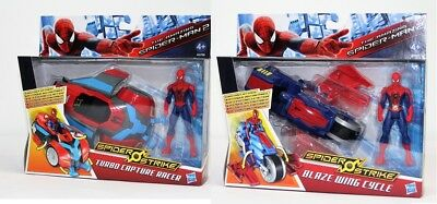 Spiderman Strike Racer, Turbo Capture Racer od. Blaze wing Cycle