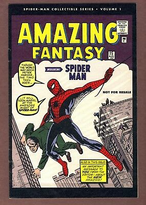Amazing Fantasy #15 reprint. VF condition. reprints 1st Spider-man story.
