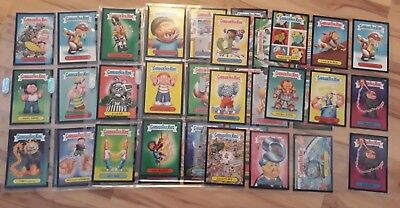 Garbage Pail Kids 2014 Series 2 Colored Border Lot . greens , reds , blacks &...