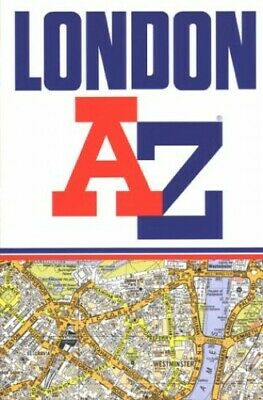 A to Z Street Atlas of London by Geographers' A-Z Map Company Paperback Book The