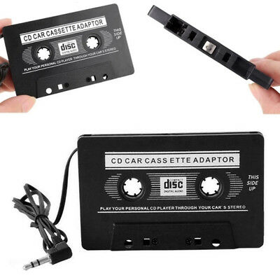In Car Audio Tape Cassette To Jack  For iPod MP3 iPhone Converter Adapter UK Pro