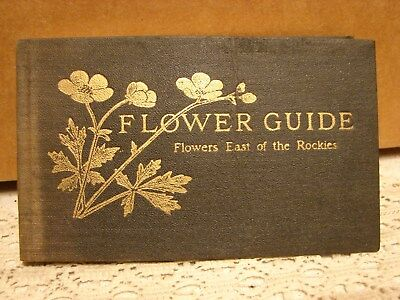 Flower Guide By Chester A. Reed 1926