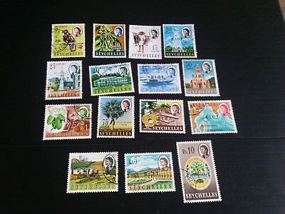 British Indian Ocean Territory 1968 Sg 1-15 Definitives Used