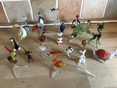 Glass Murano figures  ornaments - select 1 of choice