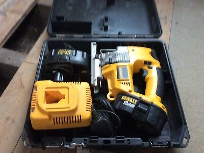 Dewalt 18v jig saw 104 picclick uk dewalt dw933 jigsaw 18v with box battery charger keyboard keysfo Gallery