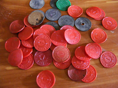 Vintage Missouri Sales Tax Tokens Two Values In Lot