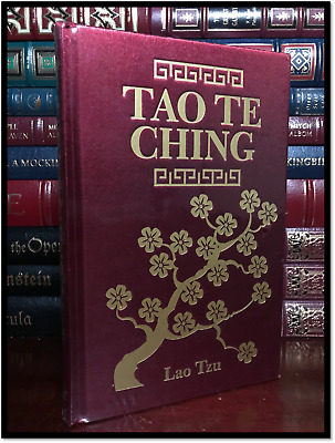 Tao Te Ching by Lao Tzu New Illustrated Deluxe Silk Bound Gift Edition Hardback