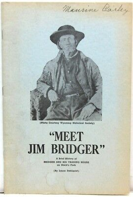 Meet Jim Bridger, A Brief History of Bridger & His Trading House on Black's Fork