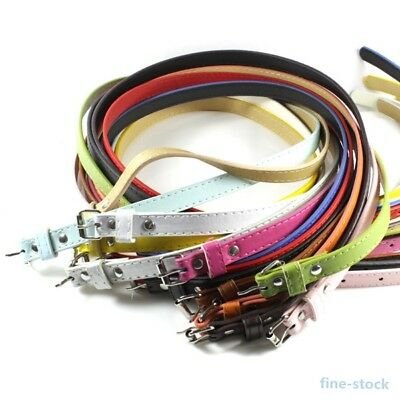 Women Girls Belt Multi Color Thin Skinny Faux Leather Waistband Strap Casual USA