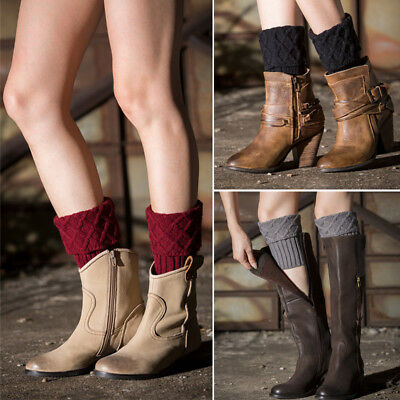 fbe8cd86697 US Ladies Women Girl Over Knee High Socks Cable Knit Soft Thigh High Long  Socks