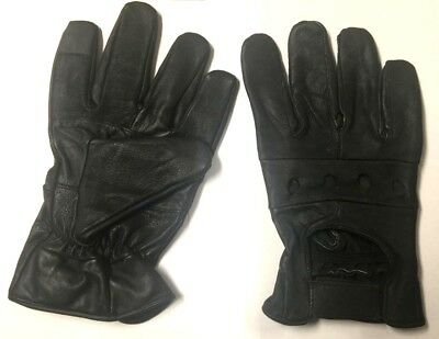 Clearance Touch Screen Men's Leather Gloves Dressing Driving Gloves Unlined New