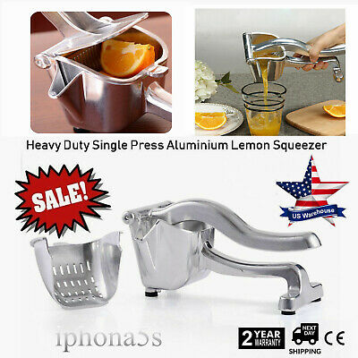 Commercial Bar Manual Hand Lemon Squeezer Citrus Press Juice Fruit Lime Juicer