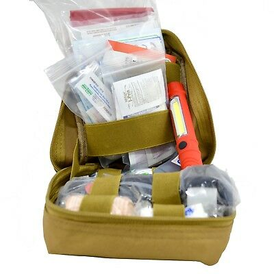 APZ Tactical IFAK - Tactical Individual First Aid Kit, MOLLE EMT