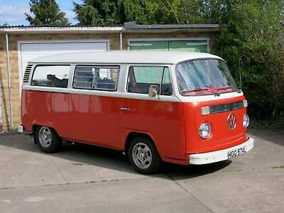 vw 1973 bay window camper bus t2 uk rhd 19 picclick uk. Black Bedroom Furniture Sets. Home Design Ideas