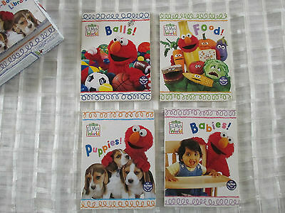 Sesame Street Elmo's world - set of 4 lift the flap board books for babies