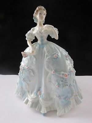 Royal Worcester The First Quadrille Figurine Limited Edition By Nigel Stevens