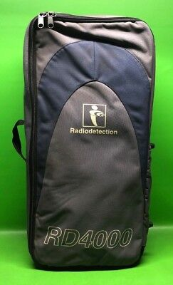 Radiodetection Pipe Locator - RD4000 - RD4000T10 - Utility Underground Soft Case