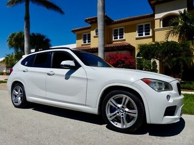2014 BMW X1  Florida Owned Loaded with Options MSPORT Navigation  Alpine White