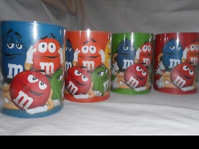 M&M'S® Licensed Character LED Candles New 4 candles