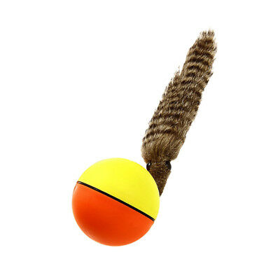Dog Cat Weasel Motorized Funny Rolling Ball Pet Appear Jump Moving Alive Toy