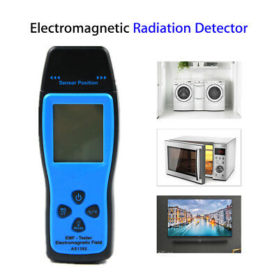Digital LCD display EMF Tester electric field magnetic Detector Professional New