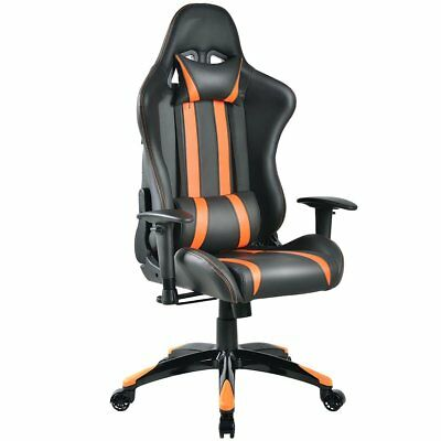 Giantex Racing High Back Reclining Gaming Chair Ergonomic Computer Desk Office