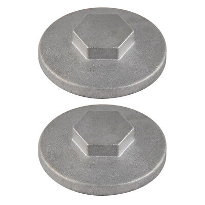2PCS Tappet Cover Valve Adjuster Cap For Honda Silver Wing GL500,Sportrax TRX90