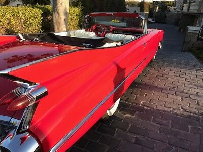 1959 Cadillac Series 62  convertible Convertible NICE  pristine driver. Leather may deliver REAL DEAL  Build Sheet   Video