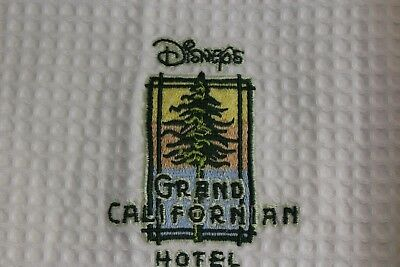 MINT LOT OF 2 Soft Touch Disney Grand California Hotel Terry Robes One Size L XL