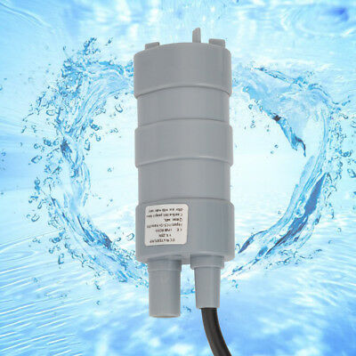 DC12V 1.2A Submersible Pump Under Water Waterproof Watering Garden 5M 14L/Min