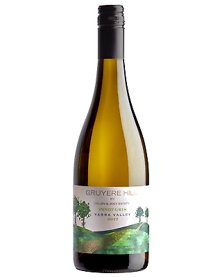 Gruyere Hill Pinot Gris 2017 case of 6 Dry White Wine 750ml Yarra valley