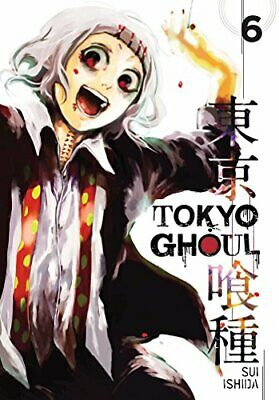Tokyo Ghoul, Vol. 6 by Sui Ishida Book The Cheap Fast Free Post