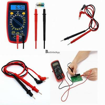 Universal Digital Multi Meter Test Lead Probe Wire Pen Cable 10A 1000V