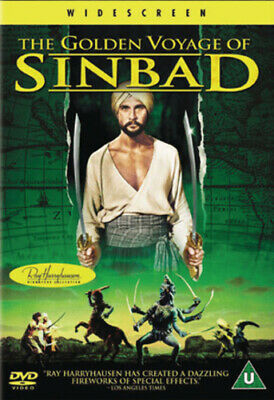 The Golden Voyage of Sinbad DVD (2002) John Phillip Law, Hessler (DIR) cert U