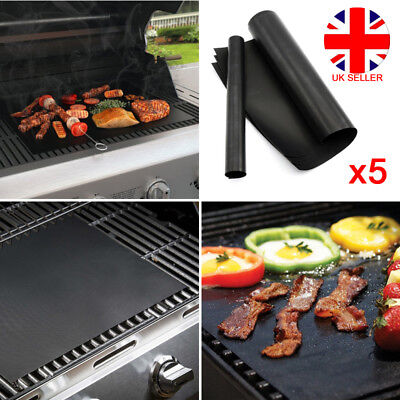 Responsible Bbq Grill Mat Teflon Reusable Sheet Resistant Non-stick Barbecue Bake Meat Uk Excellent Quality Yard, Garden & Outdoor Living