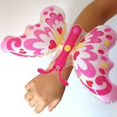 Inflatable Butterfly Wristband Fancy Dress Costume Accessory Party Decoration
