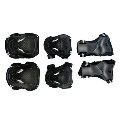 6Pcs Skating Knee and Elbow Pad Wrist Guard Protective Gear for Kids Adult