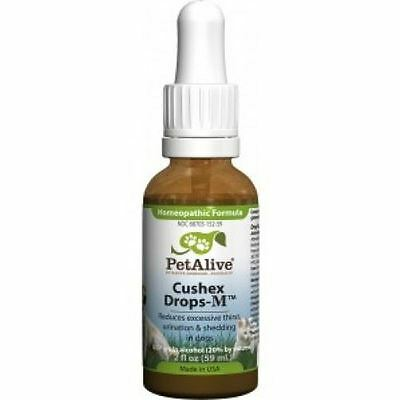 PetAlive Cushex Drops M (60ml) -  Homeopathic Remedy for Adrenal Health in Dogs