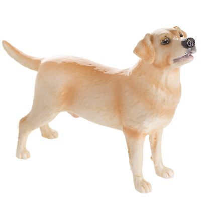 John Beswick JBD100 Labrador Yellow Dog Figurine