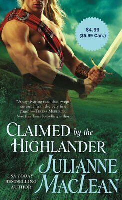 Claimed by the Highlander by MacLean, Julianne Book The Cheap Fast Free Post