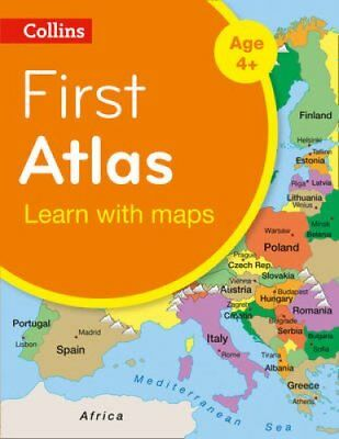 Collins First Atlas by Collins Maps 9780008101015 (Paperback, 2014)