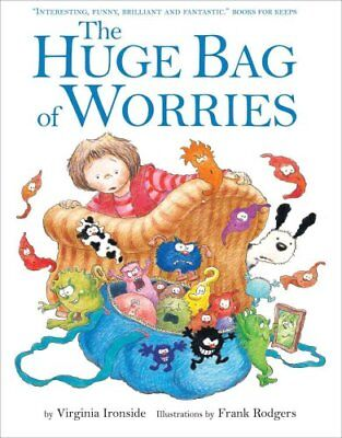 The Huge Bag of Worries by Virginia Ironside 9780340903179 (Paperback, 1996)