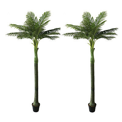 Artificial Palm Tree Outdoor/Indoor Super Realistic Potted Palm Plant 280cm Tall