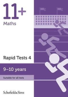 11+ Maths Rapid Tests Book 4: Year 5, Ages 9-10 9780721714240 (Paperback, 2018)