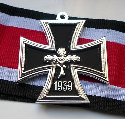 German Iron Cross Medal 1939 Ww2 2Nd Class Repro Economic Version Army Badge